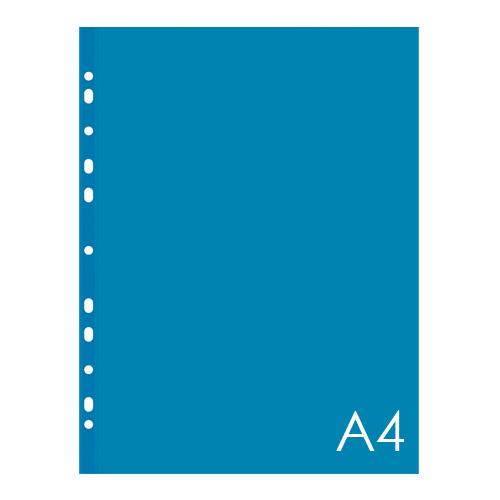 Euroobal A4 40 µm farebný - modrý, lesklý 100ks