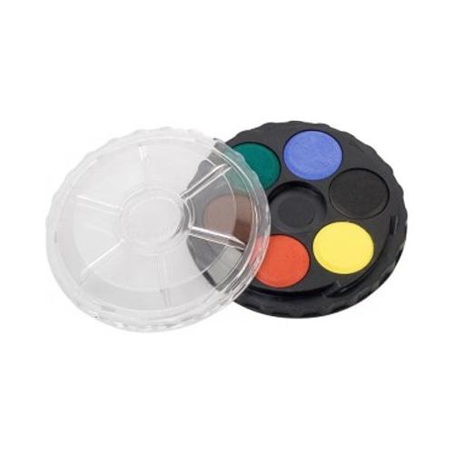 Farby vodové KOH-I-NOOR okrúhle, sada 6 ks