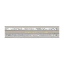 Šablóna písmenková KOH-I-NOOR ISO 3,5 mm
