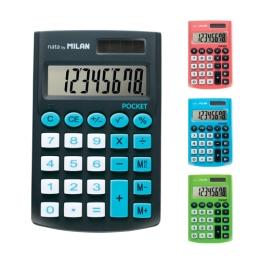Kalkulačka MILAN vrecková 8-miestna Touch