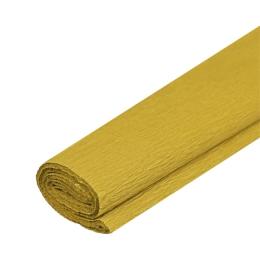 Krepový papier JUNIOR - zlatý 32