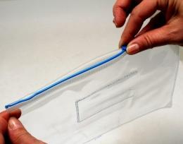 Obal PVC A4 zipper F56