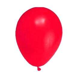 Balón M 25 cm, červený /100ks/
