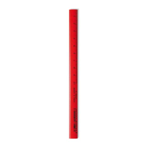 Ceruzka grafitová KOH-I-NOOR Tesárska/nehrotená, červená 1 ks