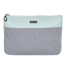 Kozmetická taška Grey Mentol - plochá